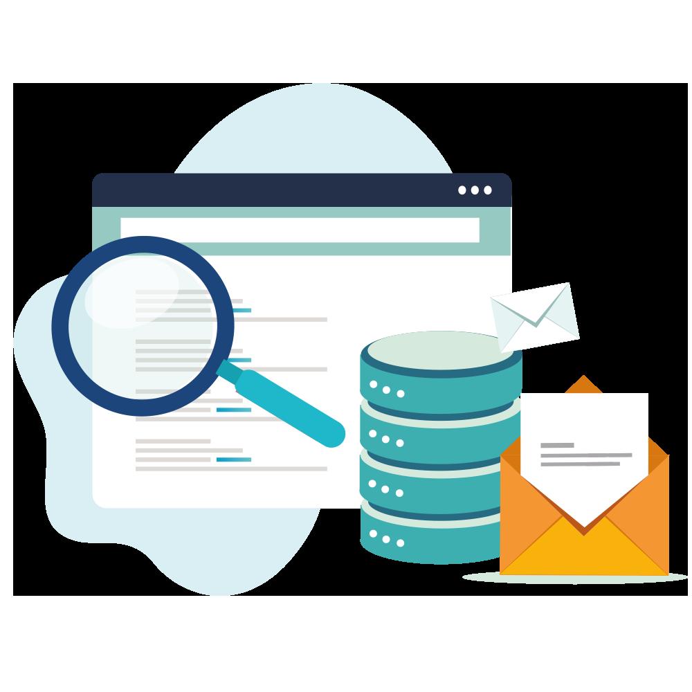 siti web e servizi di posta